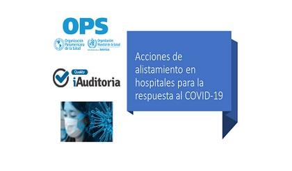 Checklist acciones de aislamiento hospitales Covid19